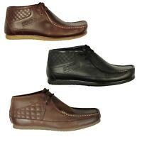 Mens Boots Nicholas Deakins Basic Black & Brown Designer Shoes All Sizes 6-12