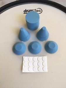 E-Drum Trigger-Kegel +Zylinder PRO Cone-Set Optimierung für Alesis DM 10X Kit