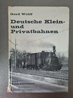 Deutsche Klein- und Privatbahnen; Teil: Teil 5., Baden-Württemberg