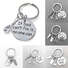 1pc Family Wrench Spanner Screwdriver Hammer Tool Keyring Key Chain Ring Gift