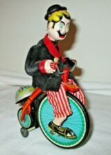 VINTAGE T.P.S  / TOPLAY 1955 TIN WIND UP GAY 90'S CYCLIST