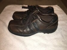 Skechers SN4400 Men's Loafers Size 8.5 Leather Lace Up Casual Sneaker