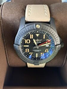 Breitling Automatic Avenger GMT 45 Night Mission Titanium