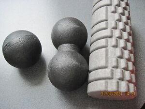 1 große Fazienrolle und 2-teiliges Massageball Set als Komplettangebot