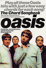 Oasis Chord Songbook Guitar Sheet Music Book. Play The Best Of Greatest Hits NEW