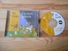 CD Jazz Fay Lovsky & LA BANDE DESSINEE-same/sans titre (21 chanson) Basta rec