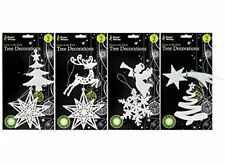 Christmas Tree Decorations Glow In The Dark -Four Designs to Choose From