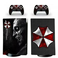 Resident Evil Umbrella PS5  Skin Vinyl Wrap Sticker for PlayStation 5