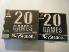 20 Games - Family Games Compendium - Sony PlayStation - PS1 - Complet - Occasion