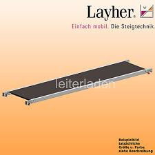 Layher Fahrgerüst Belagbrücke 2,85m Gerüst Einzelteil Rollgerüst Zubehör 1241285