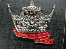Hard Rock Cafe*Atlantic City,New Jersey*Miss Hard Rock Crown Pin*Nice*New/Card
