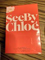 See by Chloe 1.7 oz 50ml Perfume Spray Eau de Parfum EDP Women Rare Discontinued