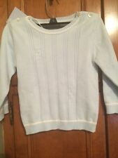 NWT EMILE ET ROSE Baby Boy Sweater 18 Months 100% Cotton Pale Blue