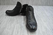 Miz Mooz Bangkok Leather Bootie, Women's Size 9-9.5/EU 40, Black
