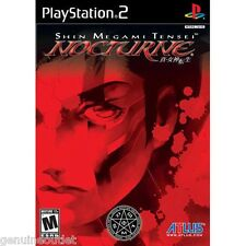 Shin Megami Tensei Nocturne PS2 Playstation 2 Brand New Factory Sealed