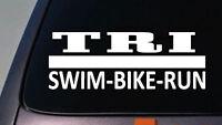 """Tri Decal Sticker Triathalon Decal Sticker 6"""""""