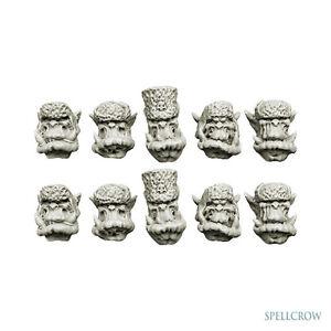 Fellmützen Ork Winter Devils Heads Orcs Heads 10 Heads Bitz Spellcrow SPCB5111