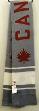 HBC London 2012 Olympic Team CANADA Gray & White Scarf New With Tags Youth O/S