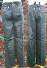 Drillichose M42, drillich, feldhose, HBT Wehrmacht, field trousers pants summer