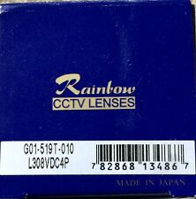 RAINBOW L308VDC4P CCTV AUTOMATIC IRIS LENS G01-519T-010 BRAND NEW