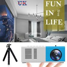 Full HD 1080P Mini Pocket LED Home Cinema Portable Projector Video HDMI USB AV A