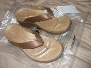Women's Capri met texture Relaxed Fit Bronze wedge choice size NWT