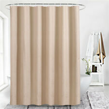 Polyester Waterproof Bathroom Solid Color Shower Curtain Wide Mildew  180*180cm