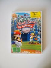 """Wii """"Little League World Series Baseball"""" Video Game. Great Condition! Bargain!"""