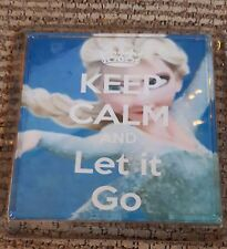Frozen - Keep Calm and let it go Coaster