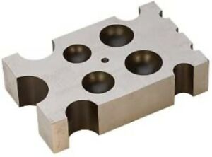EuroTool Flat Designer Dapping Block | DAP-114.00 | Jewelry Metal Art Craft