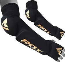 RDX Elbow Support Arm Wrist Brace MMA Protector Forearm Pads Sleeves Gym Bandage