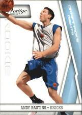 2010-11 Prestige Draft Picks Light Blue Basketball Card #188 Andy Rautins/999