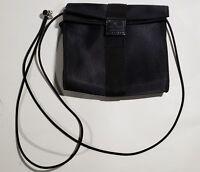 Nine West adjustable strap bag Handbag Purse Black Small