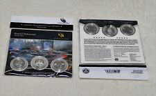 2012 US Mint Hawaii Volcanoes ATB Quarters 3 Coin Set Sealed Hard To Find - New
