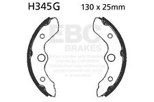 FIT HONDA TRX 250 TE2 Re Con ES (Electric Sh 02>14 EBC FRONT GROOVED BRAKE SHOES