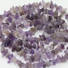 50PCS Natural Stone Semi Precious Chip Drilled Tumble Beads Jewelry Making DIY