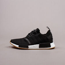 Adidas Originals NMD R1 Boost Black White Gum New Men Shoes lifestyle gym B42200
