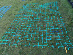 6x 5ft OUTDOOR cargo rope scramble net 4tree house playset climbing frame safety
