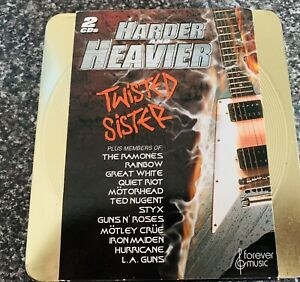 Heavy Metal Twisted Sister Album And Harder And Heavier Double Cased 2cds Set