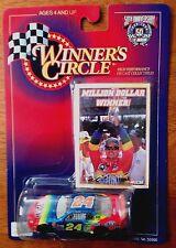 Winners Circle 1998 #24 Jeff Gordon DuPont Million Dollar Winner 1/64