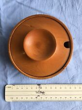 Collectable Huon Pine sugar bowl with lid