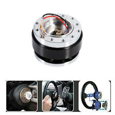 Black Ball-lock Type Quick Release Hub Adapter for 6 Hole Car Steering Wheel
