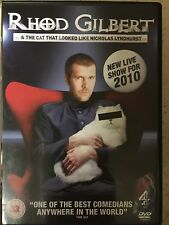 RHOD GILBERT & THE CAT WHO LOOKED LIKE NICHOLAS... Welsh Stand Up Comedy UK DVD
