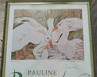 PAULINE BEWICK PRINT SIGNED BY THE ARTIST GEESE 1987 Odette Gilbert Gallery