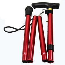 Aluminum Telescopic Trekking Hiking Poles Adjustable Walking Cane Folding Stick