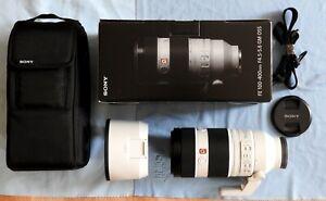 Sony FE 100-400mm G Master Super-Telephoto Zoom OSS E Mount Lens Mod:SEL100400GM
