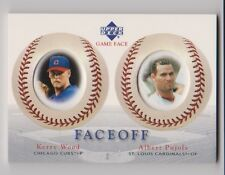 2003 Upper Deck Game Face FaceOff #180 Kerry Wood & Albert Pujols