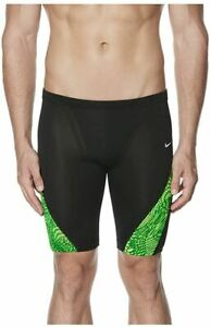 Nike Geo Alloy Poly Blend Performance Jammer - Court Green (Size 26, 32, 34)