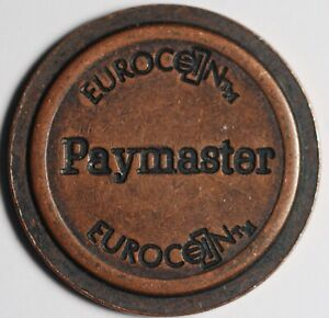 EuroCent Paymaster 1993 Onwards 21mm
