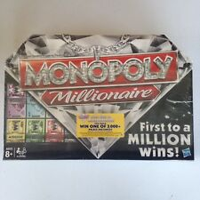 Monopoly Millionaire Edition The Fast-Dealing Property Trading Board Game Sealed